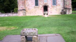 Walk To Stone Of Destiny Scone Palace Perth Perthshire Scotland May 22nd