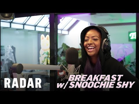 Justine Skye on Breakfast w/ Snoochie Shy