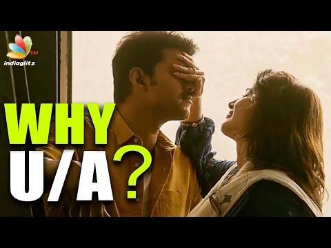 Why Mersal Censored U/A?  | Hot Tamil Cinema News | Vijay Intimate Scene