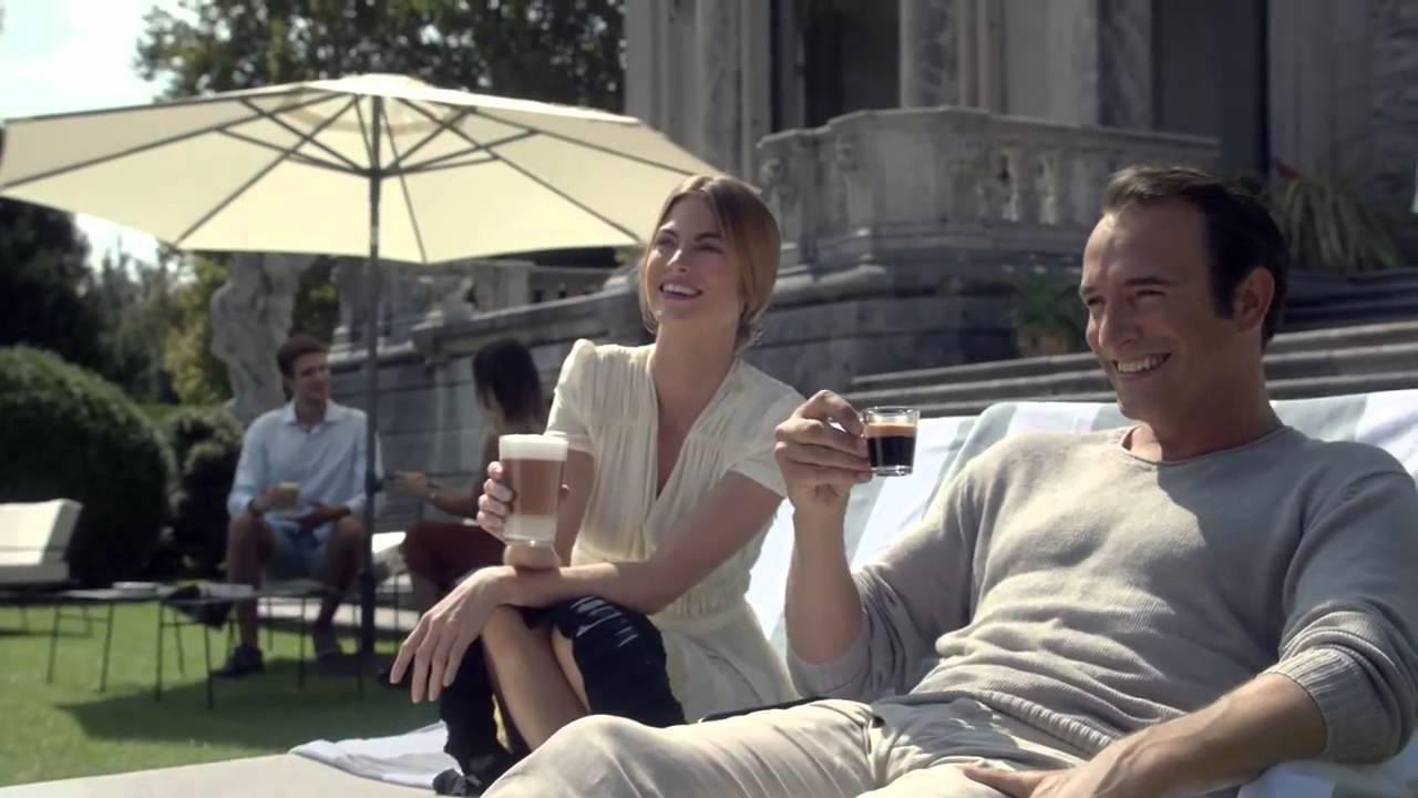 Célèbre Nouvelle publicité Nespresso de George Clooney avec Jean Dujardin  DS89