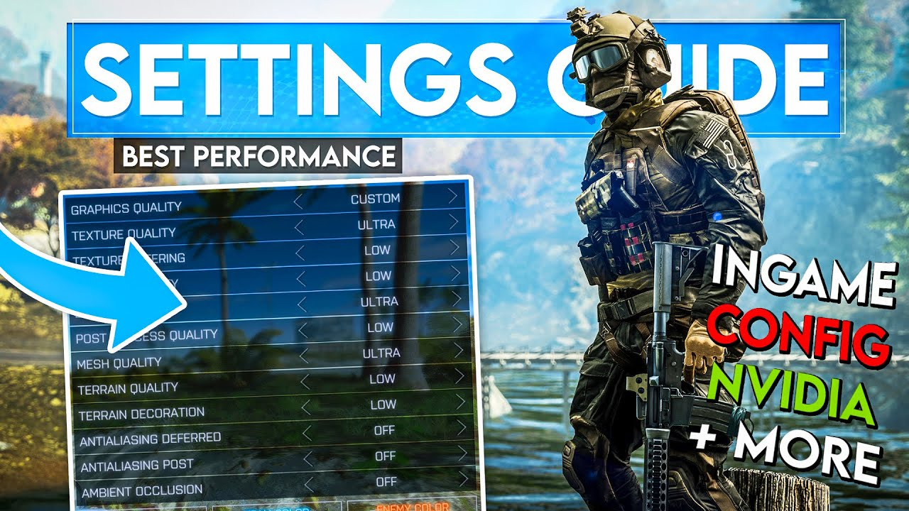 The ULTIMATE 2021 Battlefield 4 Settings Guide!