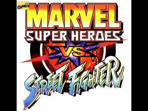 Marvel Super Heroes Vs Street Fighter Hyper Moves