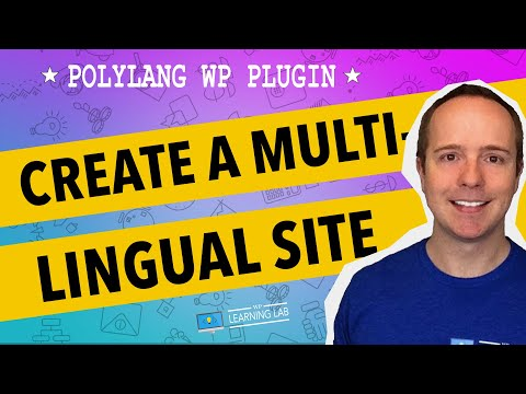 Polylang Multilingual WordPress Plugin 2017 Step-by-Step Install and Setup