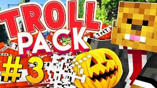Minecraft TROLL PACK - HALLOWEEN PRANK! #3 thumbnail