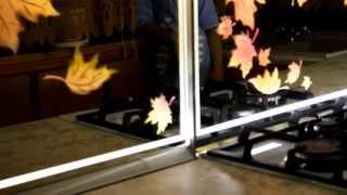 Видео урок ! Как сделать цветной пескоструй  с подсветкой из св.д. ленты.