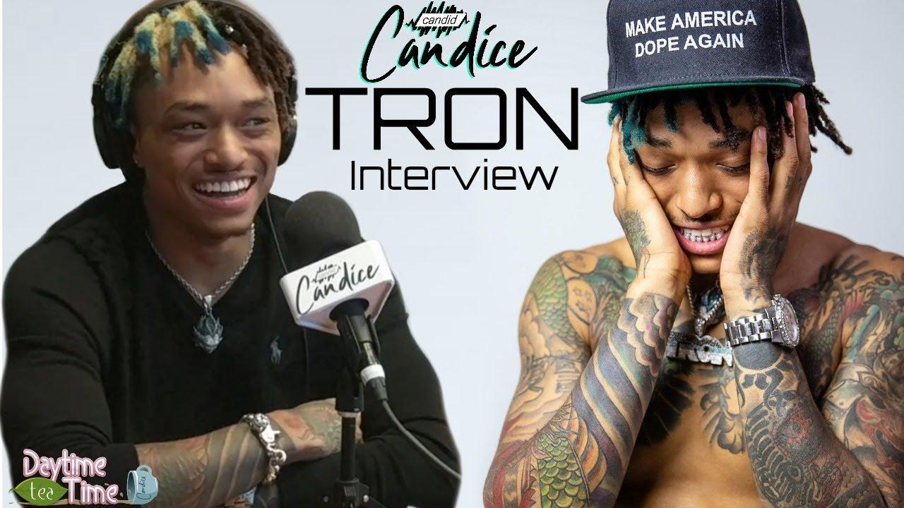 EXCLUSIVE: Tron talks NEW MUSIC, his parents Chilli & Dallas Austin, media/blogs BULLYING him +