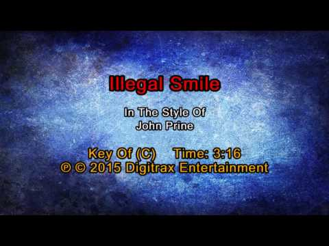John Prine - Illegal Smile (Backing Track)