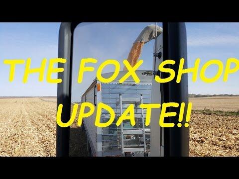 CORN HARVEST COMPLETE! - The Fox Shop Update