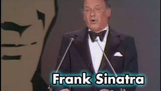 Frank Sinatra Hosts The James Cagney AFI Life Achievement Award