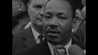 Martin Luther King At The UN For Anti-Vietnam War Demonstration (15 April 1967)