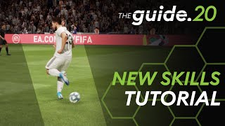 FIFA 20 ALL New Skills Tutorial   Lateral Heel to Heel, Flair Roulette, Dragback Sombrero, ...