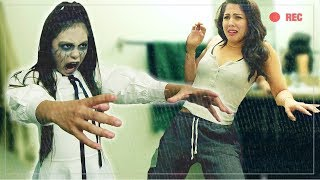 SCARING MY GIRL(FRIEND) W/HER CHILDHOOD SELF PRANK | D-trix & Megan Batoon