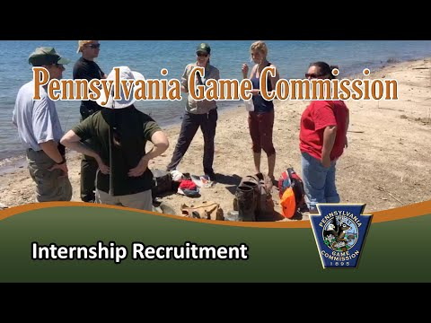 Pennsylvania Game Commission Internship Recruitment