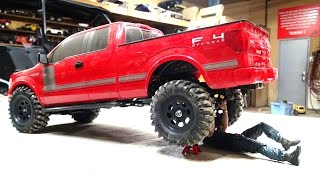 RC ADVENTURES - Modifying my Ford F150 FX4 4x4 - Rear Bumper Mount & Hitch Install