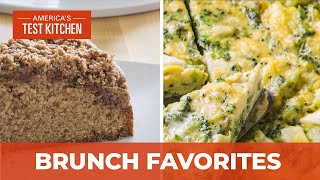 How to Make the Best Coffee Cake with Pecan Streusel and a Foolproof Broccoli and Feta Frittata