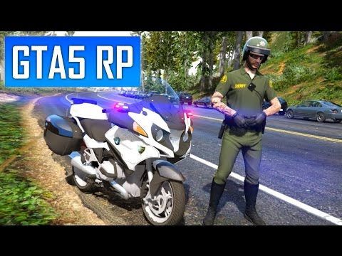 GTA 5 RP : Rediffusion LIVE Multijoueurs LSPD avec la SADOJ (24/03/17)