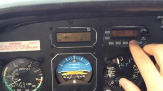 Cessna 340 Autopilot and Loading Arrival into G-530