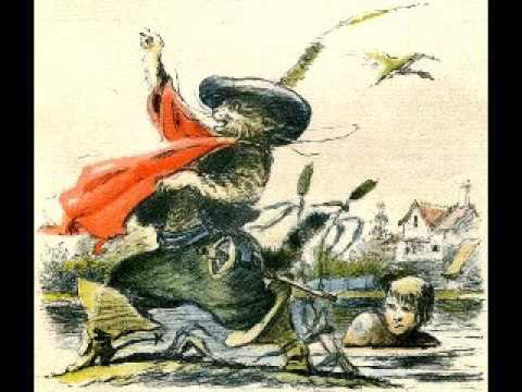 Кот в сапогах. Ш.Перро. Иллюстрации В.И. Тауберга.