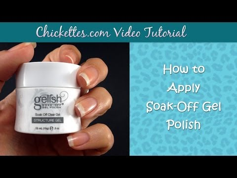 How to Apply Harmony Gelish Structure Gel