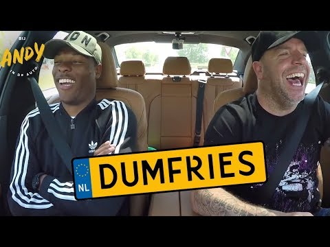 Denzel Dumfries - Bij Andy in de auto
