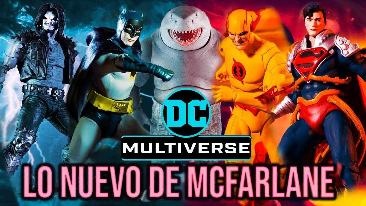 TODO LO NUEVO DE DC MULTIVERSE   Lobo, Reverse Flash, The Suicide Squad, Batman 66, Mcfarlane Disney