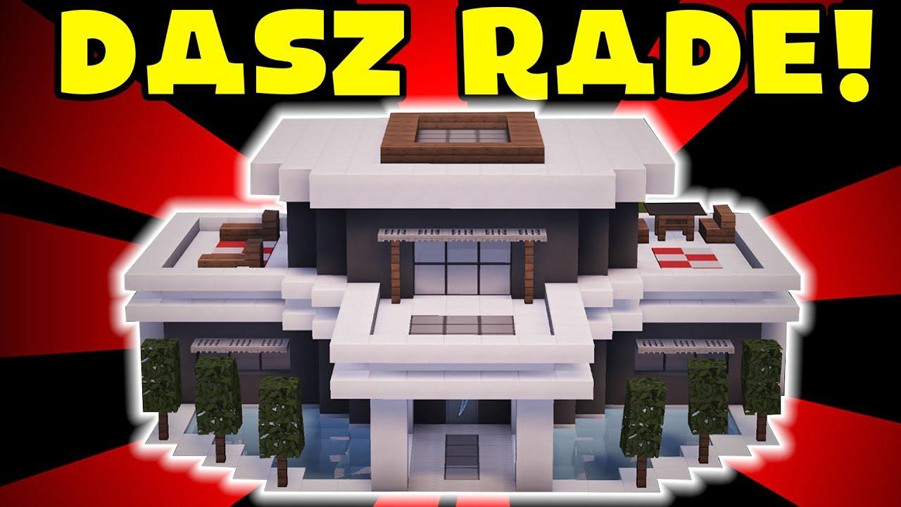 Minecraft Jak Zbudowac Wille Modern 19 Youtube