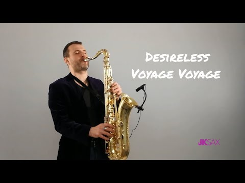 Desireless - Voyage Voyage Saxophone Cover by JK Sax