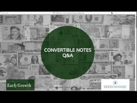 How Convertible Notes Work, Part 2