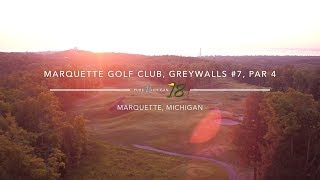 Marquette Golf Club, Greywalls Course #7 | Pure Michigan 18