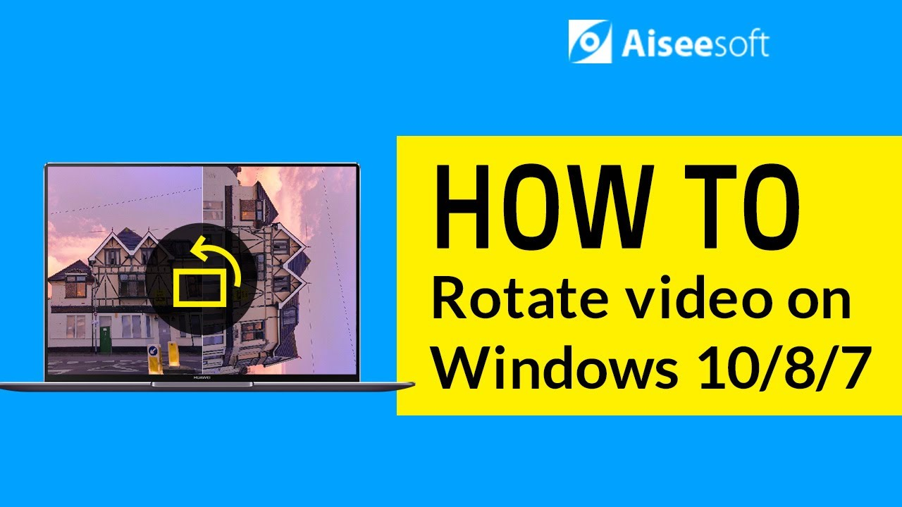 How to rotate video on windows 1087 youtube how to rotate video on windows 1087 ccuart Images