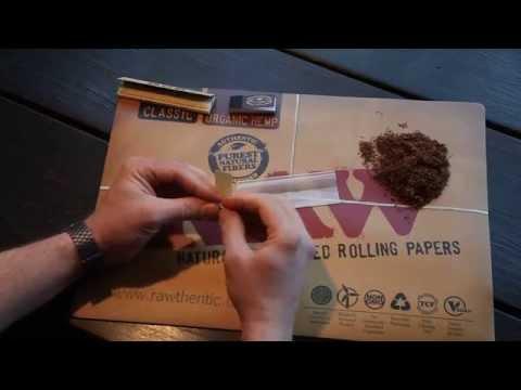 OCB Organic Hemp King Slims Smoking Papers & Quintessential Tips