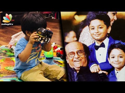 Rajinikanth's grandson wants to be a Autokaaran | Soundarya Son Ved Latest News | Dhanush