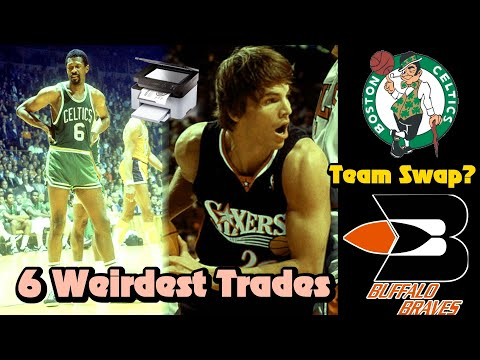 The 6 WEIRDEST Trades In NBA History