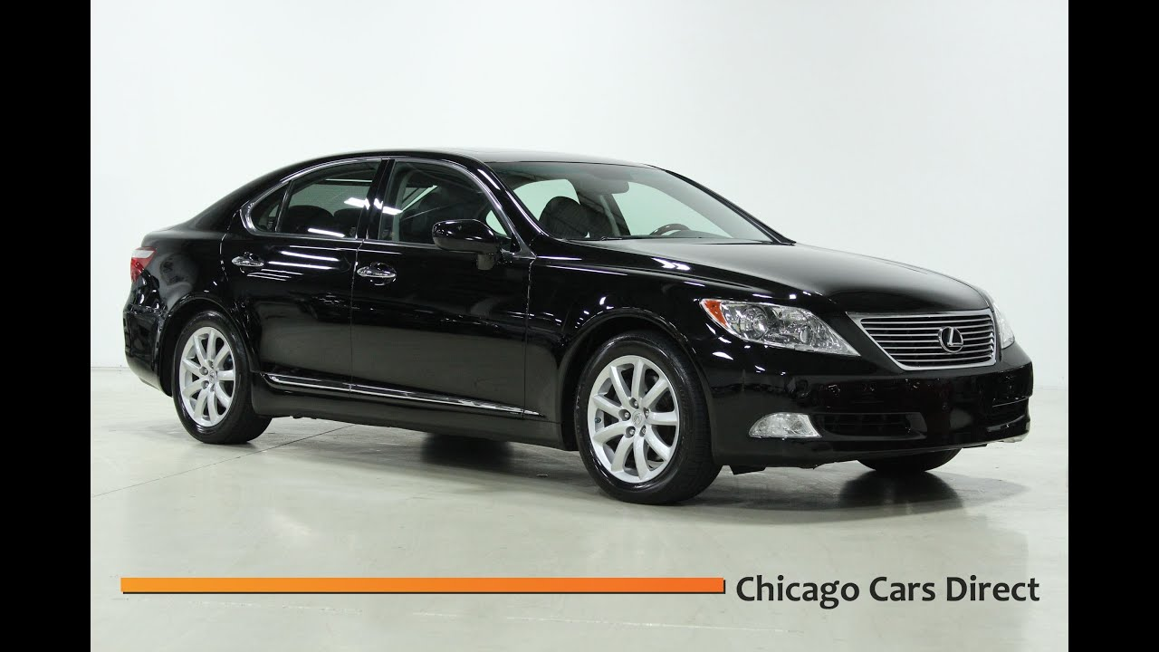 Chicago Cars Direct Presents a 2007 Lexus LS460 Sedan in High