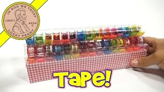 Tapeffiti 30 Decorative Tape Rolls Kit, By Fashion Angels - Time To Decorate!