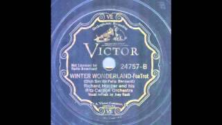 Richard Himber and Hotel Ritz-Carlton Orchestra - Winter Wonderland