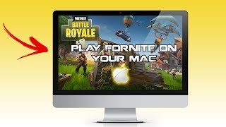 How to download FORTNITE on your Mac Computer + Gameplay!!