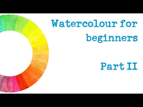 The Spin Doctor's Surgery E02 - Beginners' watercolour - brush techniques and your first painting!