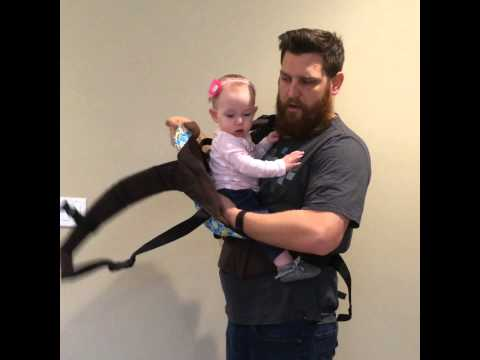 Front carry in a Kinderpack: Infant