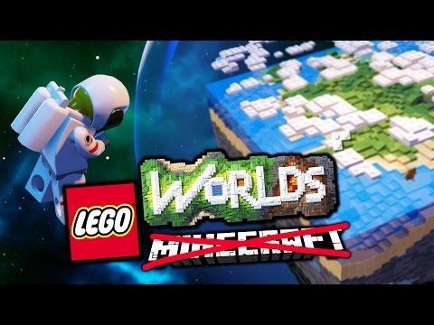 ESTO ES EL MINECRAFT DE LEGO? - LEGO Worlds #1