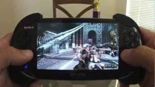 PS Vita Resistance Burning Skies Level 3 Gameplay