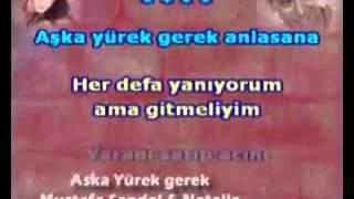 Mustafa Sandal Aşka Yürek Karaoke