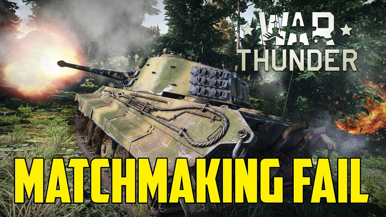 "unfair matchmaking war thunder Match-making on the ""rating"" servers will be based on the player's unfair play is a scourge for pc why is enlisted not a part of war thunder."