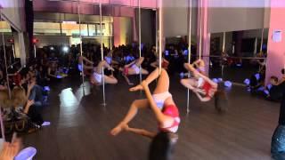 Intermediate Pole Dance Miss America Nick Carter