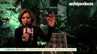 ZANOTTA | GIANLUCA BORGESI, LUDOVICA SERAFINI - I Saloni 2013