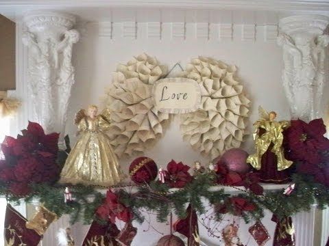 How to: Angel Wings/Wreaths from old books!