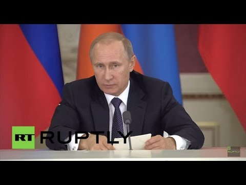 LIVE: Putin attends State Council meeting on business development in Russia