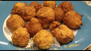 HUSH PUPPIES HOME MADE HUSH PUPPIES RECIPE  CHERYLS HOME COOKING EPISODE 500