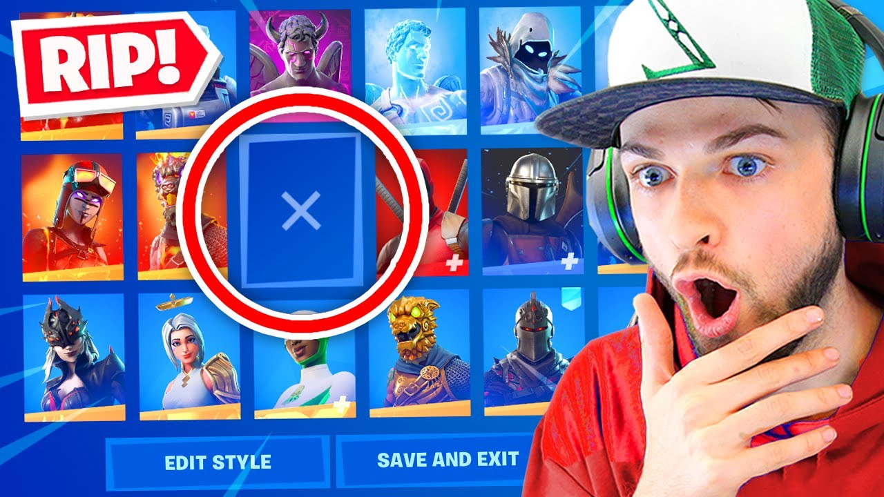 Download Epic are *REMOVING* this skin!? (PAY TO WIN)