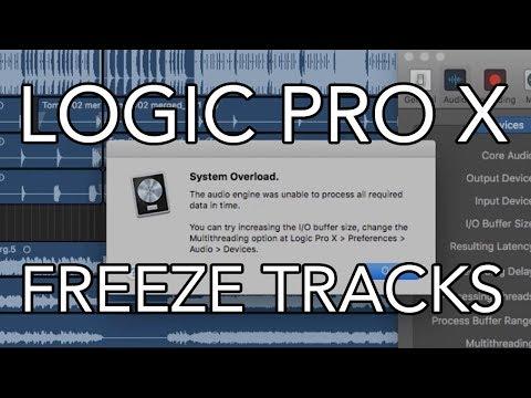 Logic Pro X - FREEZE TRACKS (10.3.2)